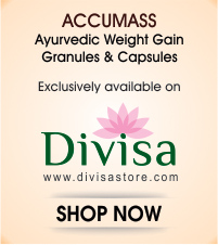 Accumass Ayurvedic Weight Gainer Powder & Capsules Online Shopping Divisa Store